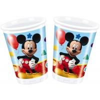 Mickey Mouse Becher 8 Stück