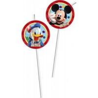 Mickey Mouse Strohhalme 6 Stück