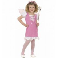 Kostüm Fee rosa Prinzessin Mädchen Fasching Karneval