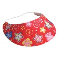Sommerparty Foam Visor 4 Stück Partydeko Hawaii Luau Beachparty