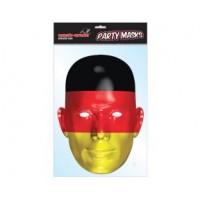 Deutschland Maske Gesichtsmaske Partydeko Fussball EM WM
