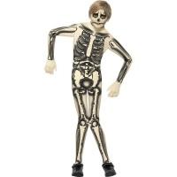 Halloween Kinder Kostüm Skelett Second Skin Junge