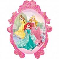 Folienballon XXL Prinzessin Partydeko Kindergeburtstag Disney Ballon