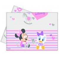 Minnie Mouse & Daisy Baby Tischdecke Disney Partydeko Babyparty Geburtstag