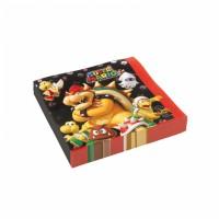 Super Mario Servietten 16 Stück Partydeko Kindergeburtstag