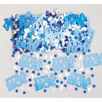 Konfetti its a Boy Blau Art. 36034 Partydeko Babyparty Geburt Junge
