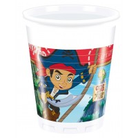 Jake and the Neverland Pirates Becher Kindergeburtstag Partydeko