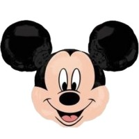 Folienballon Mickey Mouse Art. 31548 Disney Partydeko Ballon Geburtstag