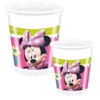 Minnie Mouse Becher Disney Partydeko Kindergeburtstag