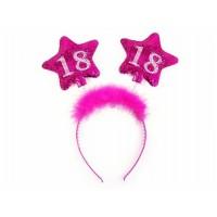 Haarreifen Zahl 18 Partydeko 18. Geburtstag
