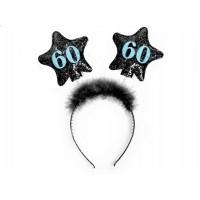 Haarreifen Zahl 60 Partydeko 60. Geburtstag