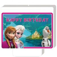 Frozen Kerze Disney Partydeko Kindergeburtstag