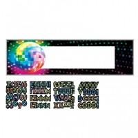 70er Disco Party Banner Personalisiert Partydeko Mottoparty Boogie
