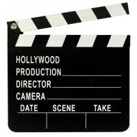 Hollywood Party Filmklappe Partydeko Mottoparty Oskar VIP