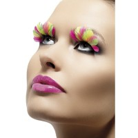 Wimpern Neon Multi Color