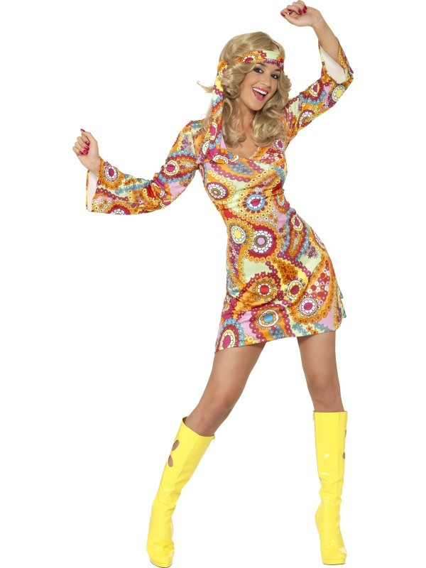 70er 80er Hippie Party Kostume Und Zubehor Zum Fasching