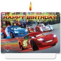 Cars Neon Kerze Kindergeburtstag Partydeko