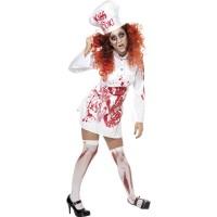 Halloween Zombie Köchin Hell´s Kitchen Blut Chefköchin