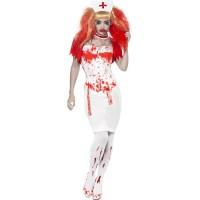 Halloween Zombie Krankenschwester Nurse