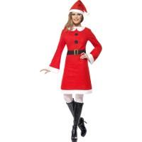 Miss Santa Kostüm Weihnachten Economy
