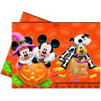 Halloween Mickey u. Minnie Mouse Tischdecke Disney Partydeko