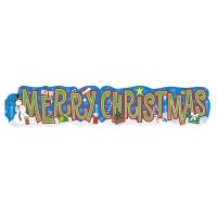 Weihnachten Banner XL Merry Christmas