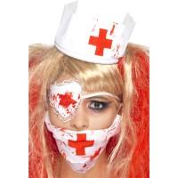 Halloween Blutige Krankenschwester Set Kostümzubehör