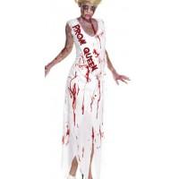 Halloween Kostüm Zombie High School Queen Gr. L