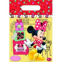 Minnie Mouse Cafe Partytüten 6 Stück