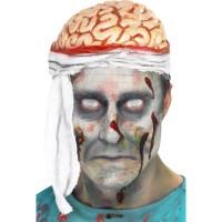 Halloween Kopfverband Bandage Brain Hat Gehirn Kostümzubehör