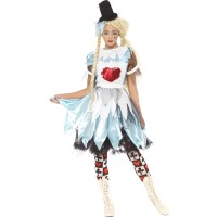 Halloween Kostüm Zombie Alice in Blunderland