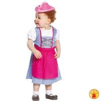 Oktoberfest Dirndl Trachtenkleidung Kinder-Dirndl Heidi