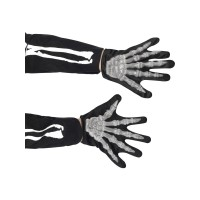 Halloween Handschuhe Skelett Kinder