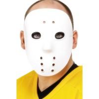 Halloween Masken Hockey Maske Weiss