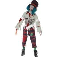 Halloween Kostüm Zombie Hatter Chapelier Horror