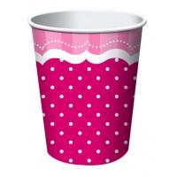 Becher Perfekt Pink misterparty.de