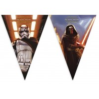 Star Wars Force Awakeness Flaggenbanner Wimpel Partydeko