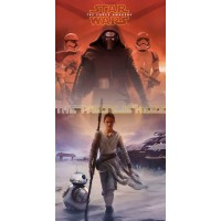 Star Wars Force Awakens Türposter Türbanner Partydeko