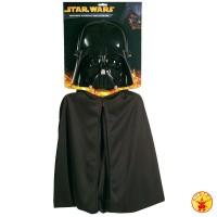 Star Wars Maske Darth Vader Set Maske und Cape