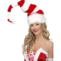 Weihnachten Santa Mütze Weihnachtsmann Rot Weiss