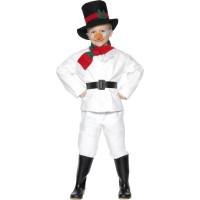 Kostüm Schneemann Kinder Weihnachten Fasching Karneval