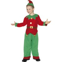 Kostüm Elf Kinder 4-6 Jahre Weihnachten Fasching Karneval