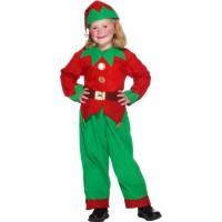 Kostüm Elf Mädchen 6-8 Jahre Weihnachten Fasching Karneval