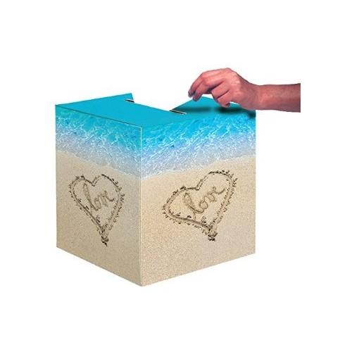 Sommerparty Strandparty Partydeko Kartenbox Valentinstag