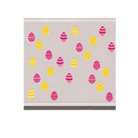 Ostern Oster Partydeko Mini Glitter Cutouts 50 Stück