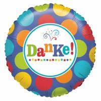 Folienballon Danke Art.29643 Partydeko Ballon