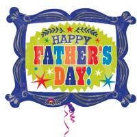 Folienballon Vatertag Happy Fathers Day Art.32388 Partydeko Ballon