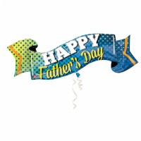 Folienballon Vatertag Happy Fathers Day Art.32390 Partydeko Ballon