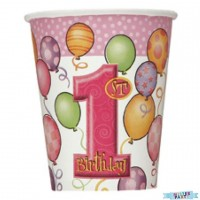 Ballon Rosa Becher 270ml