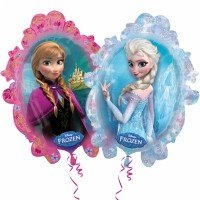 Folienballon Frozen Elsa Anna Art. 28162 Disney Partydeko Ballon Geburtstag
